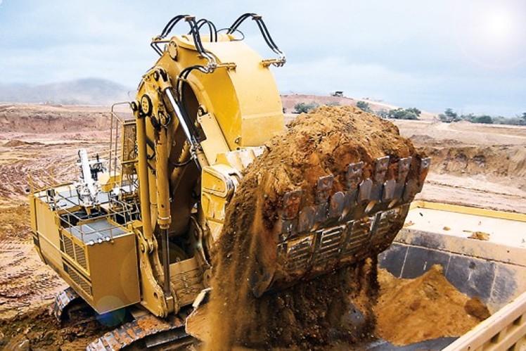 ZF-Planetengetriebe für Miningbagger