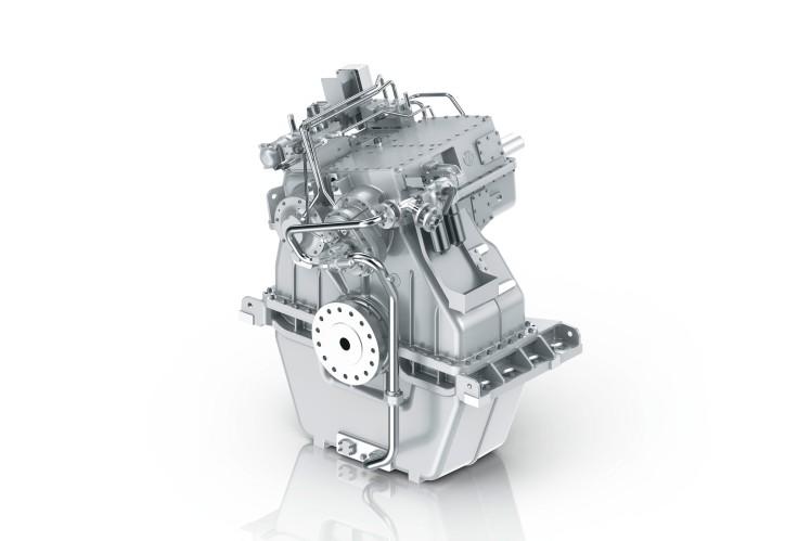 ZF-Getriebe W10250 für kommerzielle Schiffe