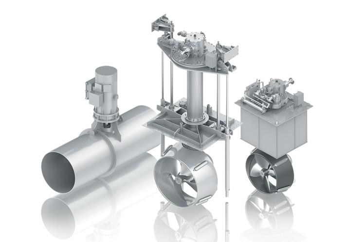 ZF-Ruderpropeller für kommerzielle und schnelle Schiffe