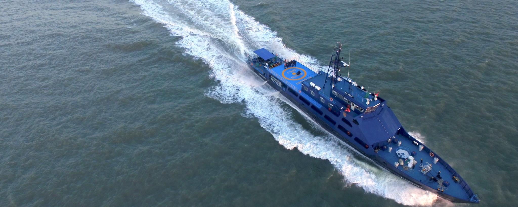 ZF-Technologie für kommerzielle und schnelle Schiffe